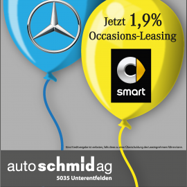 Grosse Occasions-Leasing-Angebot