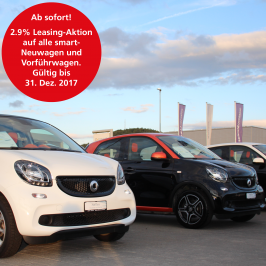 2.9 % Leasing-Aktion: smart-Neuwagen